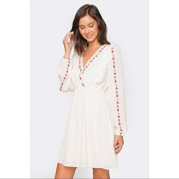 Sugarlips Dresses & Skirts - The Day After Forever Long Sleeve Cotton Dress